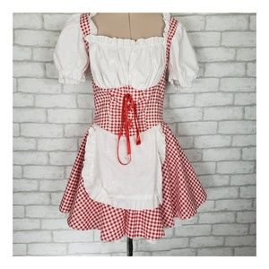 Liile Red Riding Hood Barmaid Adult Small Costume